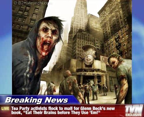 Zombie Tea Party