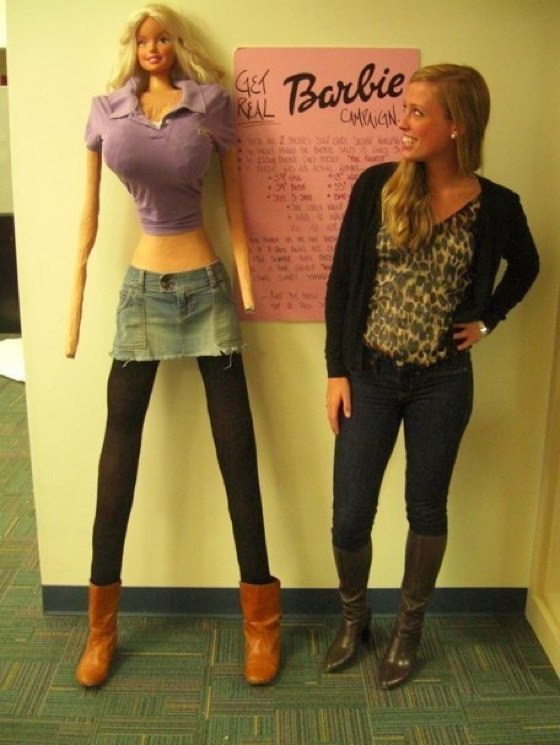 If Barbie Were Real