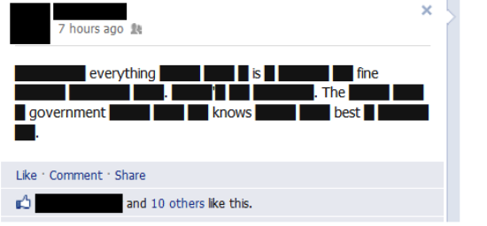 Best Anti-SOPA Facebook Status