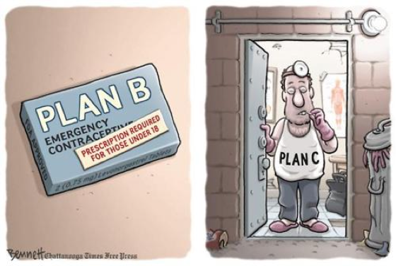After Plab B, There Is...Plan C?