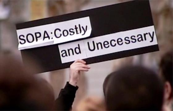 Anti-SOPA Activism