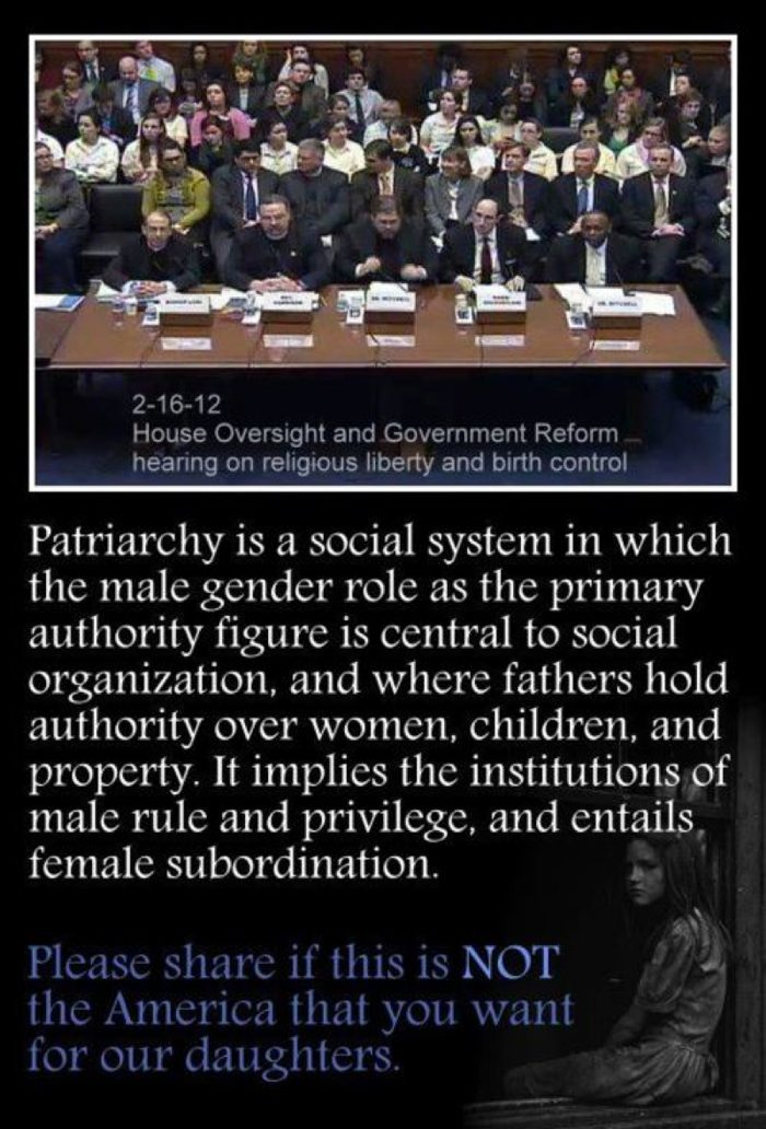 Patriarchy In America