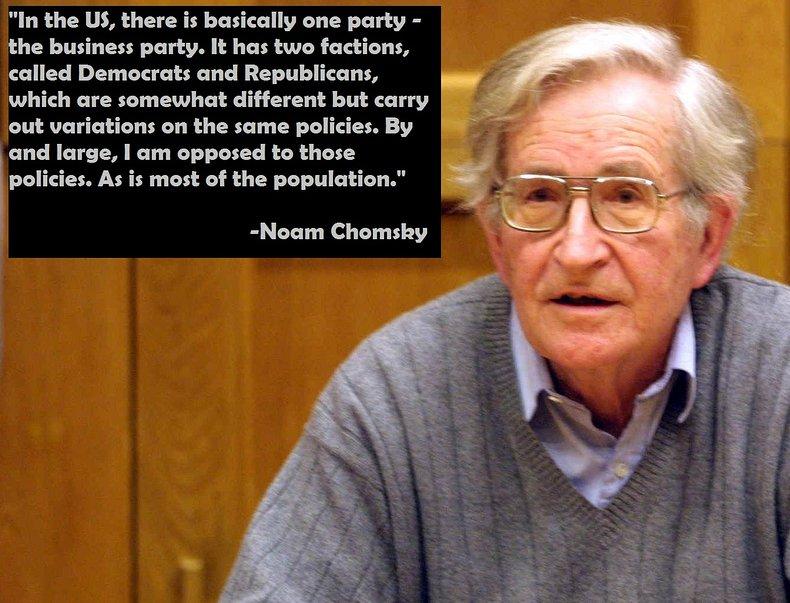 Noam Chomsky Business