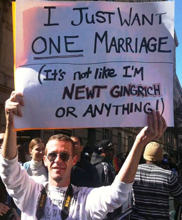 Gay Marriage Newt Gingrich