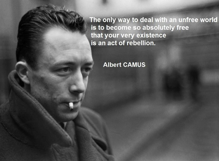Albert Camus On Rebellion Quote