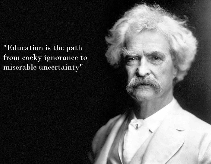 Mark Twain Eduation