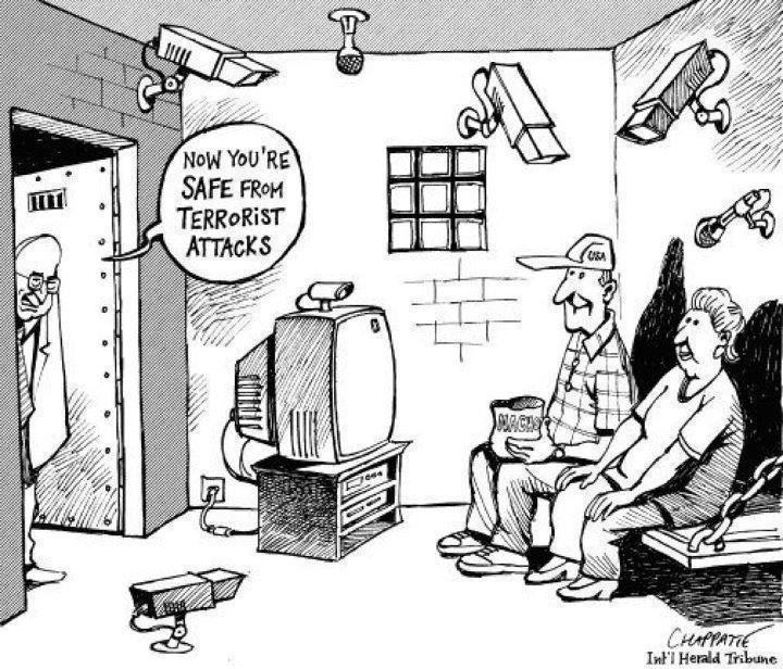 National Security Cartoon