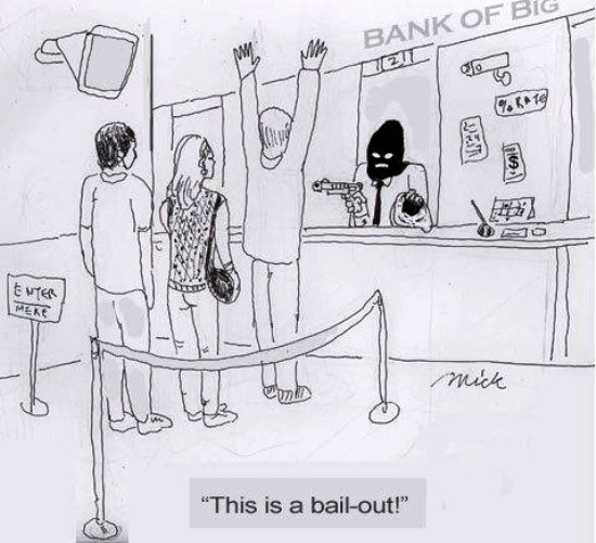 bail-in will  replace bail-out