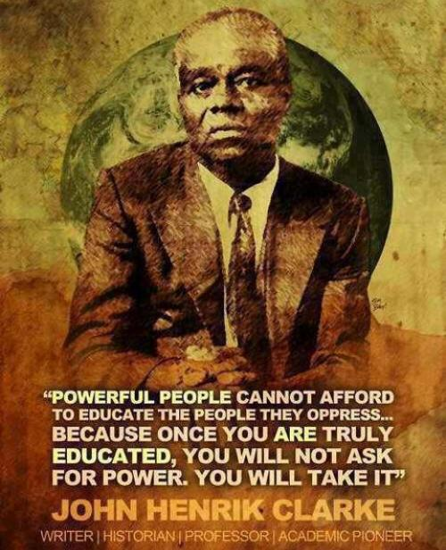 Clarke Political Power And Education