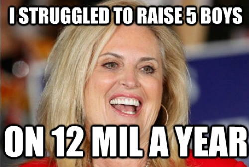 Ann Romney On Raising Boys