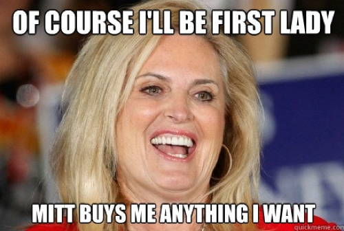 Ann Romney On FLOTUS