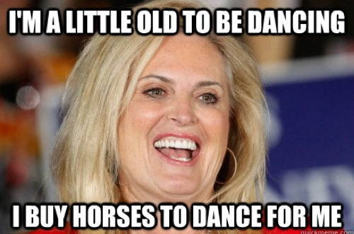 Ann Romney On Dressage