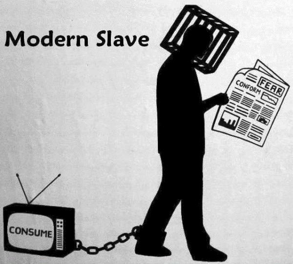 The Modern Slave Comic