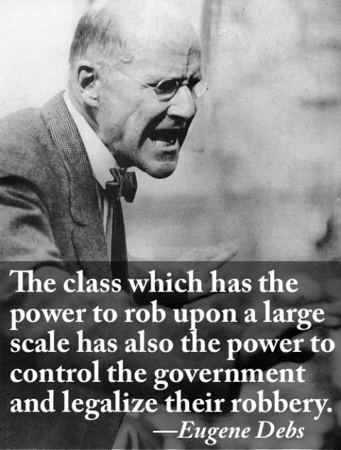 Eugene Debs On Who Controls The Government