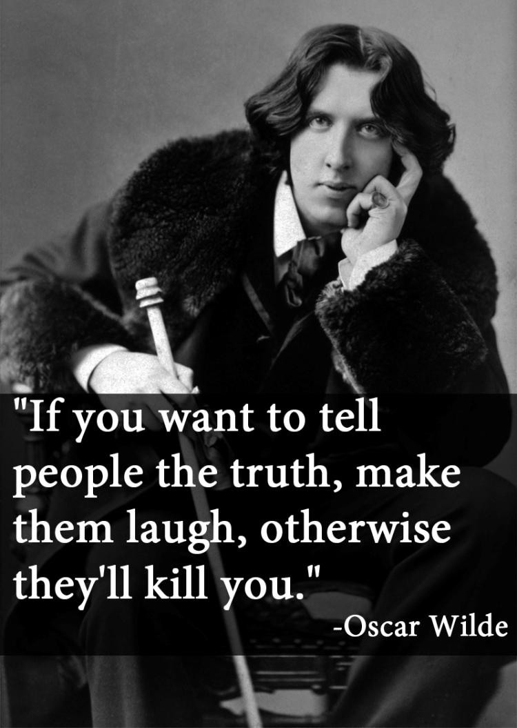 Oscar Wilde On Telling The Truth
