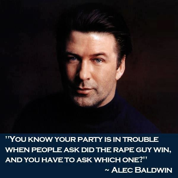Alec Baldwin Rape Quote