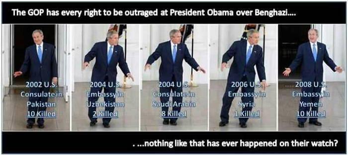 Bush Outrage