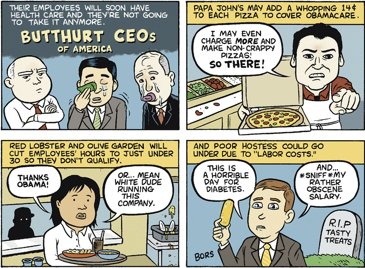 Butthurt CEOS In America