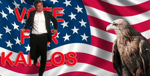 Karlos 2040 Campaign Poster