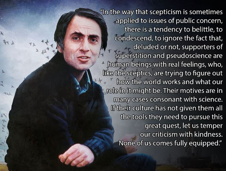 Carl Sagan On Kindness Quote