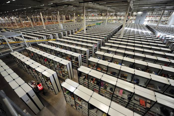 Amazon Warehouses Photographs