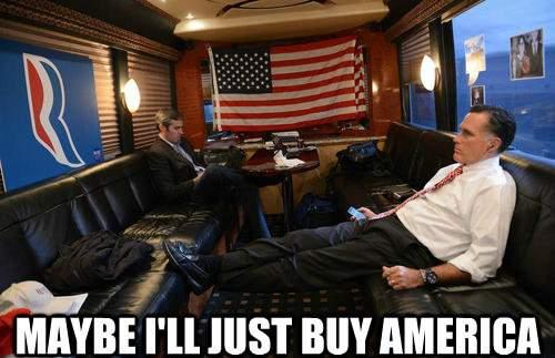 Mitt Romney Buys America