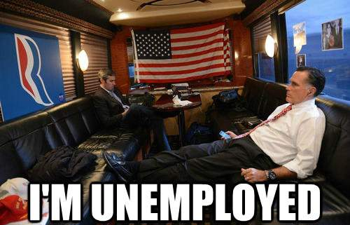 Mitt Romney Is Unemployed