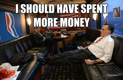 Mournful Mitt Romney Meme Should Have Spent More Money
