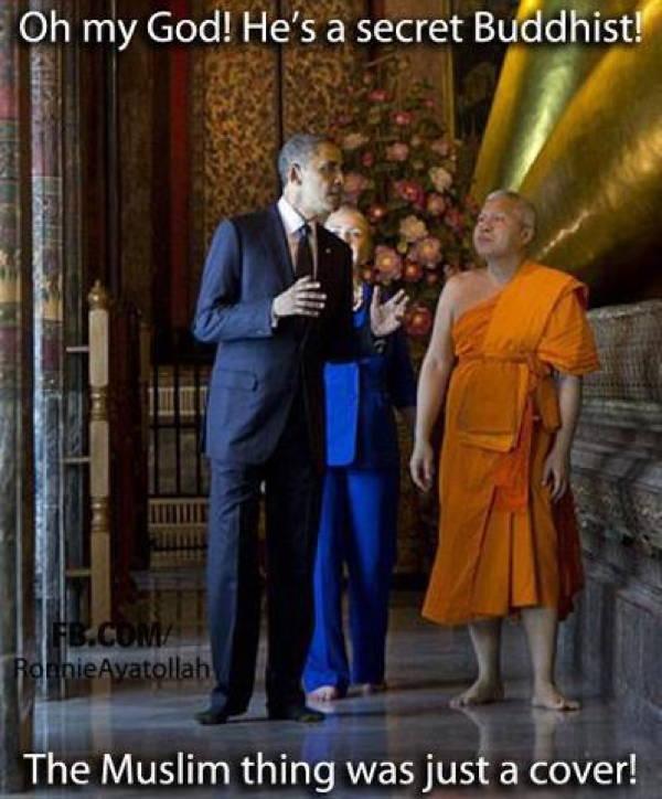 Obama Buddhist
