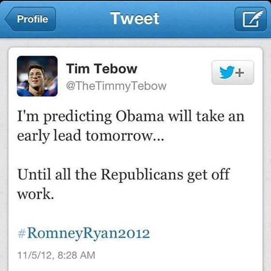 Tim Tebow Obama