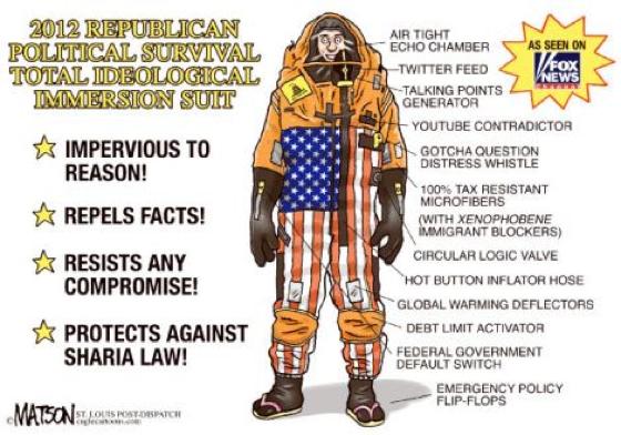 2012 Republican Ideology Suit