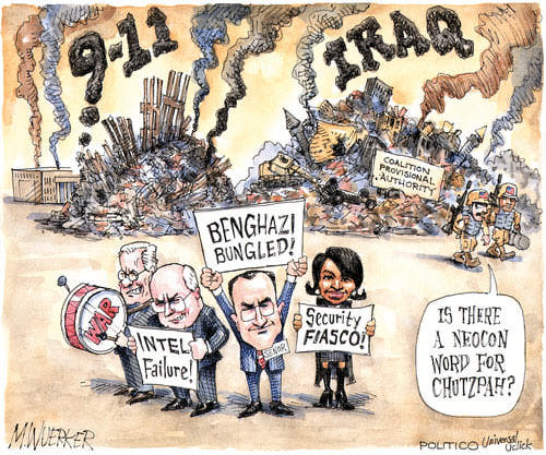 Best Political Cartoons 2012 Benghazi
