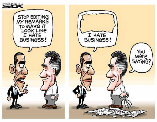 Best Political Cartoons 2012 Business