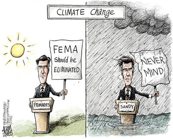 Best Political Cartoons 2012 FEMA