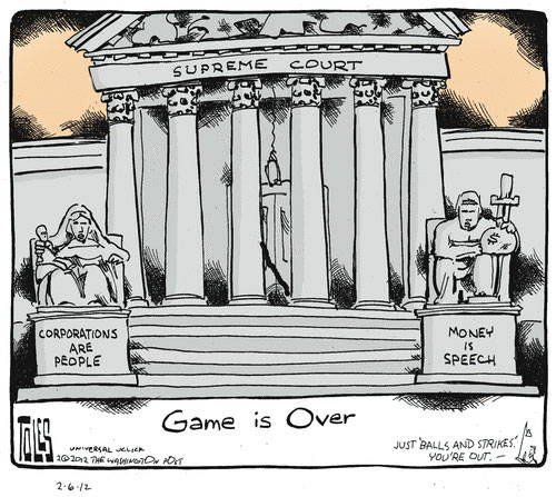 Best Political Cartoons 2012 Game Over