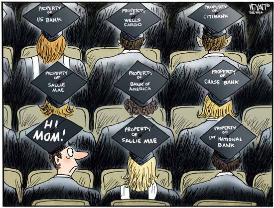 Best Political Cartoons 2012 Student Loans
