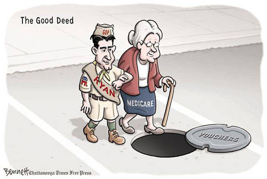 Best Political Cartoons 2012 Medicare