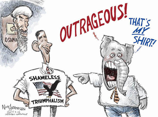 Best Political Cartoons 2012 Osama