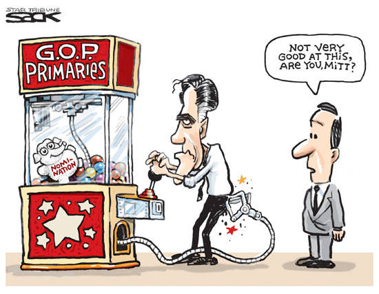 Best Political Cartoons 2012 Mitt Toy