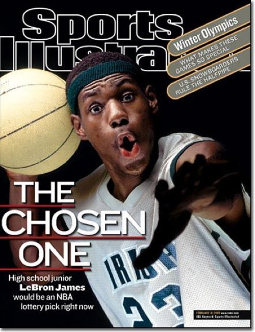 lebron james chosen one LeBron James, 2012s Athlete Of The Year