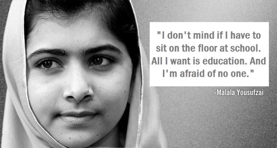 Best Of Rest 2012 Malala Yousafzai