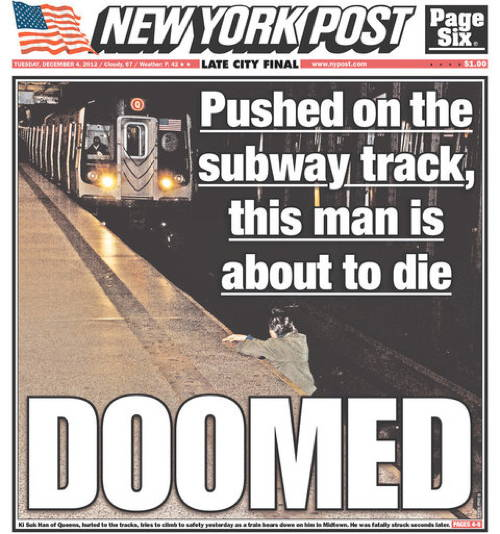 Subway Death