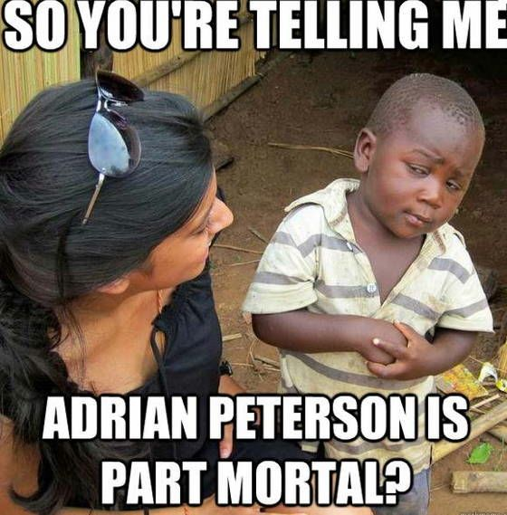Best Theories On Everything Adrian Peterson