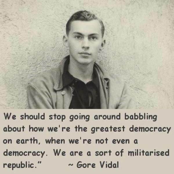 Gore Vidal Quotes Democracy