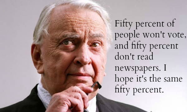 Gore Vidal Voters Quote