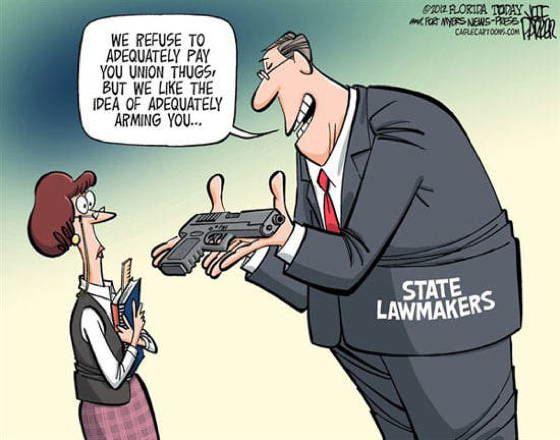 Gun Control Memes Arming Teachers