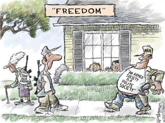 Gun Control Comics Freedom