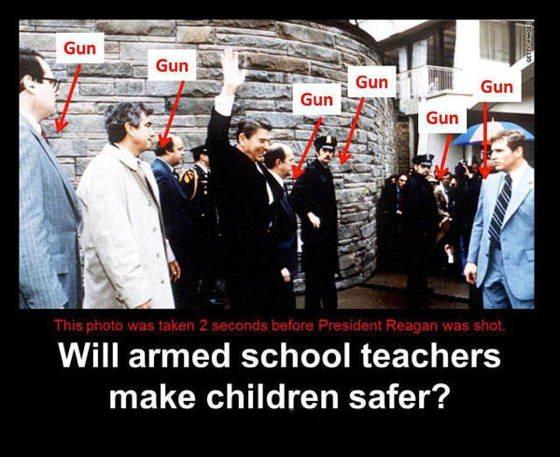 Gun Control Comic On Reagan Shooting