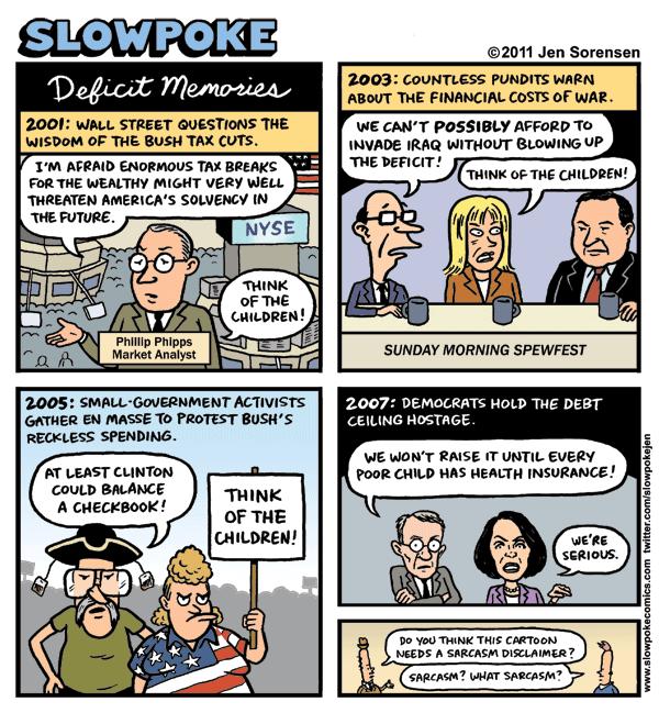 Jen Sorensen Deficit
