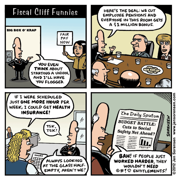 Jen Sorensen Fiscal Cliff